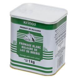 Bulgarian White Brined Sheep's Milk Cheese (1 Kg) - Krinos