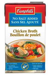Chicken Broth No Salt Added -ready to use (900 ml) - Campbell's