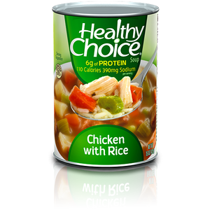 Chicken With Rice Soup (398ml) - Healthy Choice