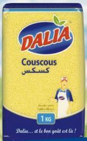 Couscous Medium 1Kg - Dalia