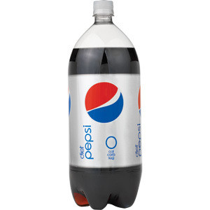 Diet Pepsi (2 Liter Bottle)