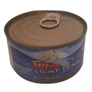 Easy open Tuna Fish in Oil (185 gr) - Mitra