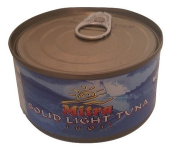 Easy open Tuna Fish in Oil (400 gr) - Mitra