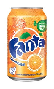 Fanta Orange Can 355ml 12 Pack