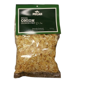 Golden Fried Onions without Flour 100 gr - Pegah