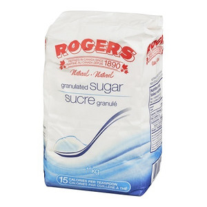Granulated white Sugar 1 kg - Rogers