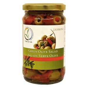 Green Olives Salad 310g - Jasmine