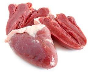 Halal Lamb Heart 0.5 kg - Basha