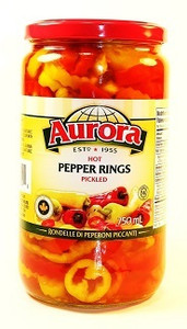 Hot Pepper Rings Pickled 26 OZ