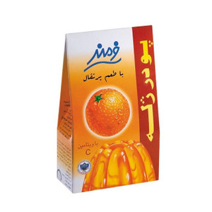 Jelly Powder Orange Flavor 100 g - Farmand