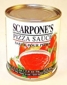 Pizza Sauce 7.5 oz - SCARPONE'S