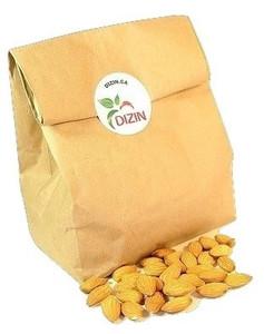 Raw Almonds (Carmel Supreme) 1/2 lb - DIZIN