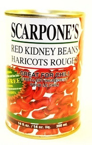Red kidney beans 400 gr - SCARPONE'S