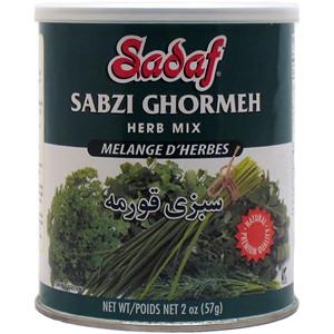 Sabzi Ghormeh - Dried Herbs Mix SDF 2 oz.