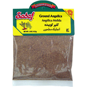 Angelica Ground - Gol Par 1.5 oz. (42.5 gr) - Sadaf