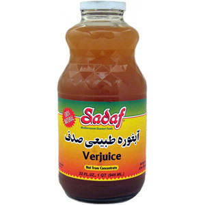 Sour Grape Juice 32 oz. (946 ml) - Sadaf