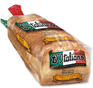 Thick Slice Original Whole Wheat Bread - d'Italiano