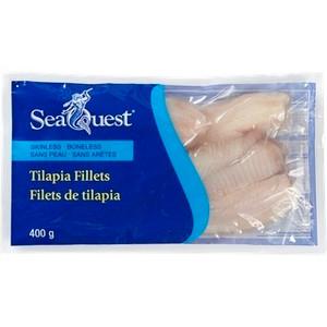 Tilapia Fillets Fish 400gr - SeaQuest