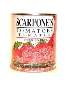 Tomatoes Diced 796ml - SCARPONE'S