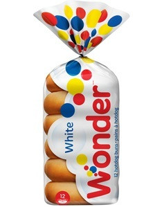 White Hotdog Buns 12pk - Wonder