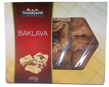 Baklava Assorted types 300gr - SHAMSANE Bakery