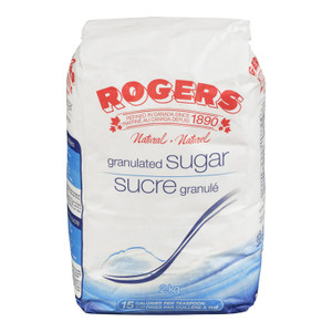 Granulated white Sugar 2 kg - Rogers