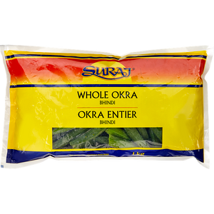 Okra, Whole (1 kg) - Suraj