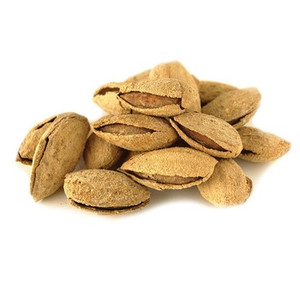 Roasted and Salted Almonds In Shell (1/2 lb)