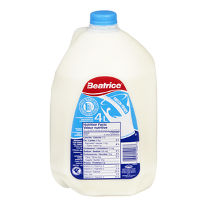 1% Milk Jug (4 L) - BEATRICE