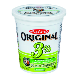 Original Balkan Style Yogurt, Plain 3% (750 g) - Astro