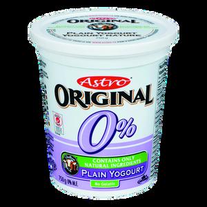 Original Balkan Style Yogurt, Plain 0% (750 g) - Astro