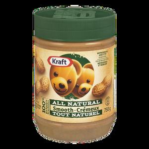 All Natural Peanut Butter, Smooth (750 g) - Kraft