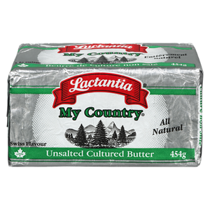 Butter, Unsalted (454 g) - LACTANTIA