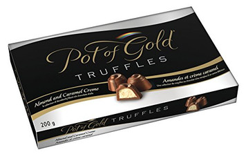 POT OF GOLD Truffles Collection Caramel Creme & almond 200G - Hershey