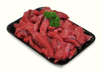 Halal Beef Stirfry 1Kg - Basha