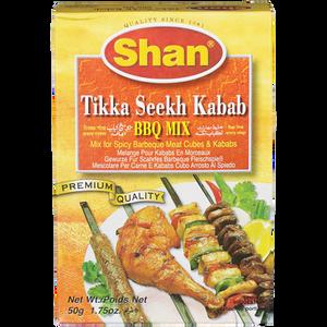 Tikka Seekh Kebab, BBQ (50 g) - Shan
