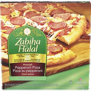 Homestyle Hawaiian Pizza (612 g)- Zabiha Halal