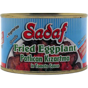 Fried Eggplant in Tomato Sauce 14 oz. - Sadaf