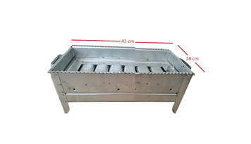 Camping Outdoor Picnic Cooking Portable Charcoal BBQ Grill Small