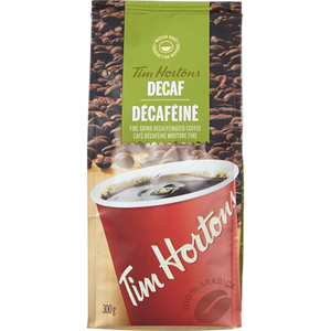 Fine Grain Coffee, Decaffeinated (300 g) - TIM HORTONS