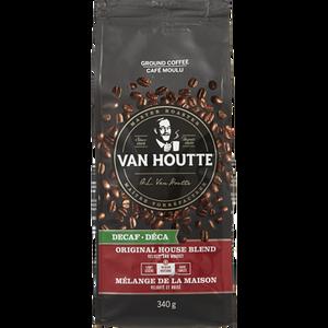 Ground Coffee, Original Decaf House Blend (340 g) - VAN HOUTTE