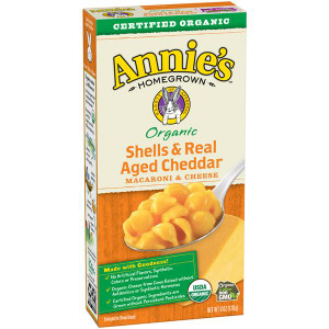 Homegrown Organic Shells & Real Aged Cheddar Mac & Cheese - Annie's