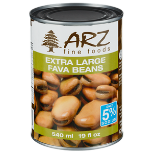 Extra Large Fava Beans (540 mL) - Arz