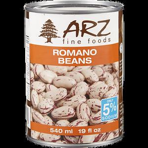 Romano Beans (540 mL) - Arz