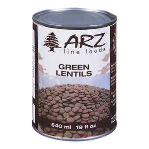 Green Lentils (540 mL) - Arz