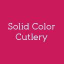 Solid Color Cutlery