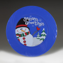 "6.5"" TruColor Season's Greetings Plate"