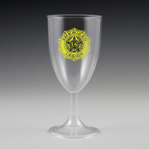 8 oz. Sovereign Wine Glass - Custom Printed