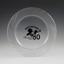"9.5"" Newbury Luncheon Plate - Custom Printed"