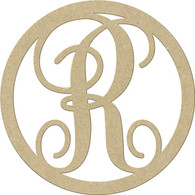 "23"" Circle Letter R"